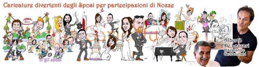 Alberto Caricaturista ai Matrimoni feste ed eventi